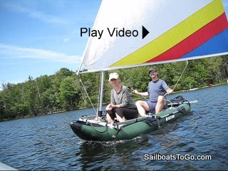 Sailboats To Go » Catalog » Inflatable Dinghy Sailing Rig