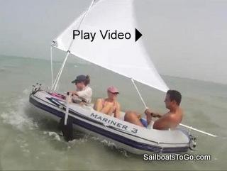 Sailboats To Go 187 Catalog 187 Inflatable Dinghy Sailing Rig