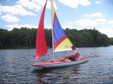 Sailboats To Go » Snark Sea Skimmer Sailboat Sold Here