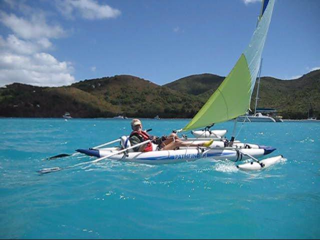 Sailboats To Go 187 Pathfinder Ii Kayak And Sail Kit