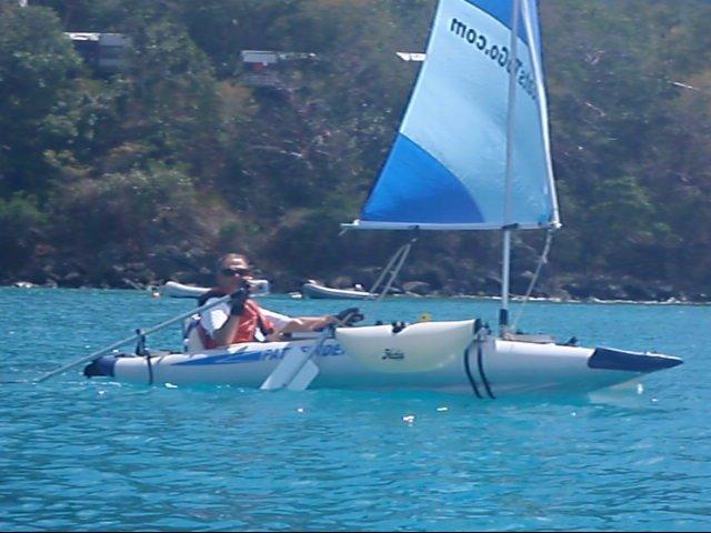 Sailboats To Go » Pathfinder II Kayak and Sail Kit