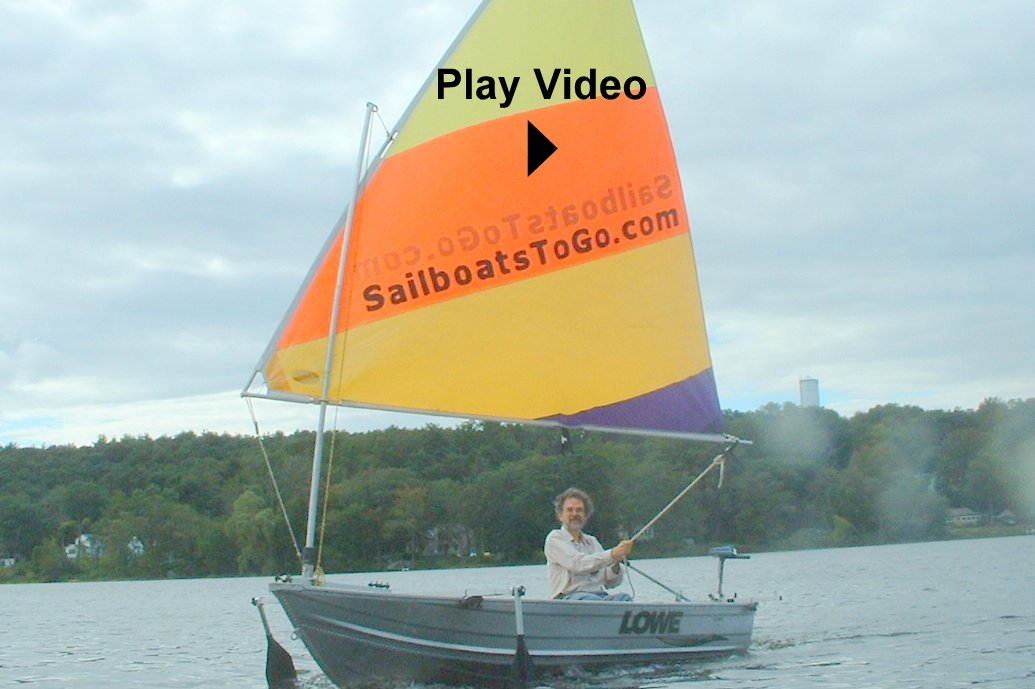 Sailboats To Go » Sail Rigs for Dinghies and Rowboats