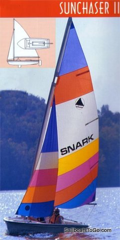Sailboats To Go » Sunchaser II Snark Sailboat