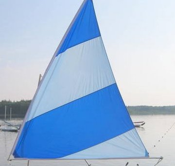 sailboats to go nylon sails