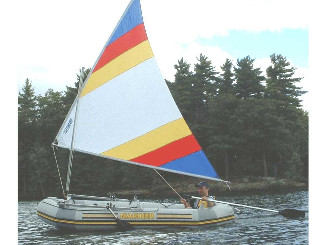 Sailboats To Go 187 Intex Mariner Inflatable Boat With Sail