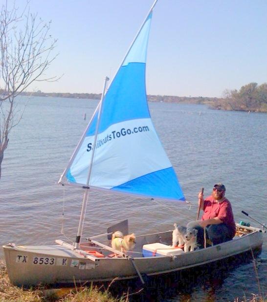 Sailboats To Go » trucker review canoe sail kit