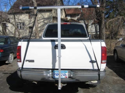 Sailboatstogo 187 Aluminum Hitch Rack Telescoping T Support