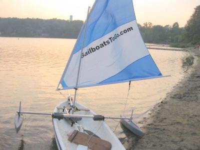 Sailboatstogo 187 Snark And Sunflower Stabilizer Pontoons