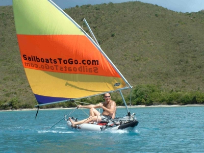 SailboatsToGo»Special Kayak Sail Rig - Open sides -- for